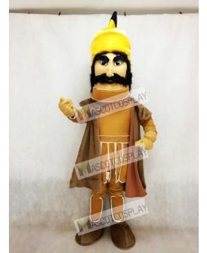 Trojan Warrior Mascot Costume with a Cloak