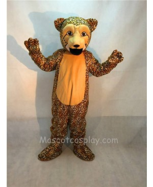 Fierce Cheetah Leopard Mascot Costume