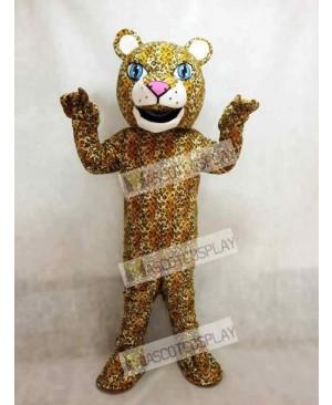 Realistic Animal Jaguar Mascot Costume