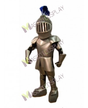 High Quality Adult Knight in Shining Armour Mascot Costume