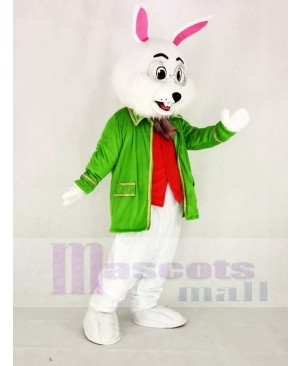 Realistic Wendell Green Easter Bunny Rabbit Mascot Costume Animal