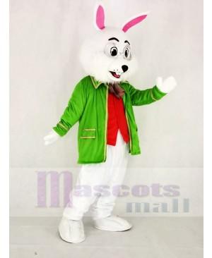 Realistic Wendell Green Easter Bunny Rabbit Mascot Costume Animal