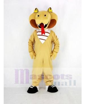 Realistic Cobra Snake Mascot Costume Animal