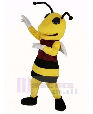 Power Bee Mascot Costume Animal