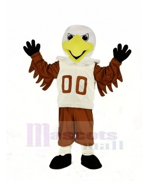 Cool College Eagle Mascot Costume Animal