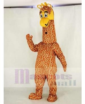 Realistic Giraffe Mascot Costume Animal