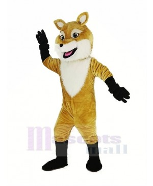Brown Fox Mascot Costume Animal