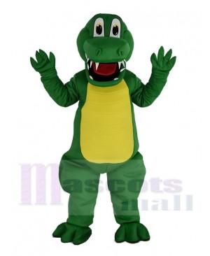 Funny Green Alligator Mascot Costume Animal