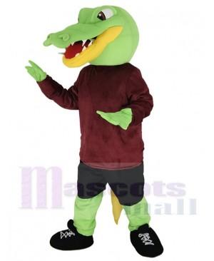 Alligator mascot costume