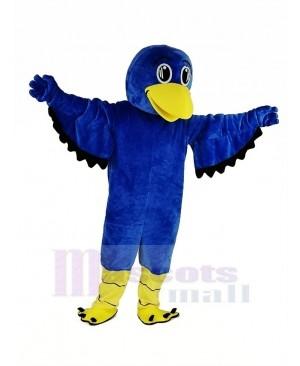 Blue Falcon Mascot Costume Animal