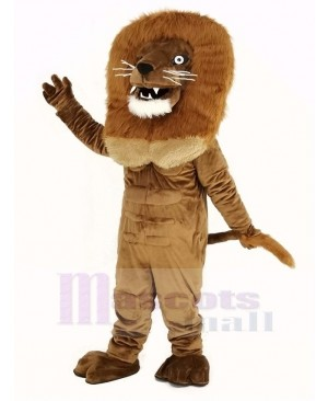 Strong Power Lion Mascot Costume Adult