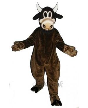 Clover Cow Mascot Costume