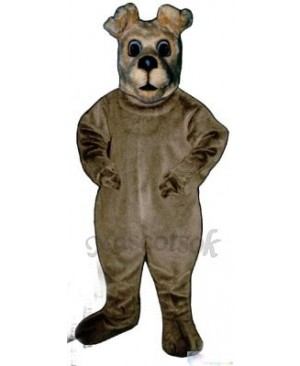 Cute Terrier Dog Mascot Costume