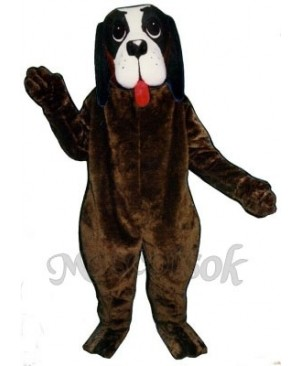 Cute Barney Dog Mascot Costume