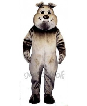 Cute Tuffy Bulldog Mascot Costume