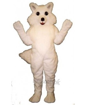 Cute Arctic Fox Mascot Costume
