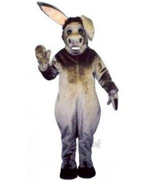 Bobbie Burro Donkey Mascot Costume