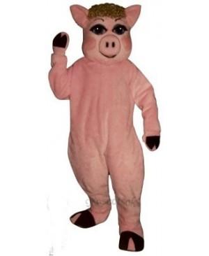 Cute Penelope Pig Mascot Costume