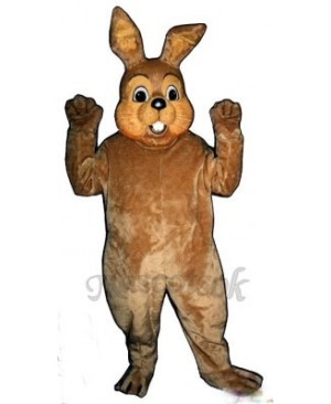 Cute Easter Bramble Bunny Rabbit Mascot Costume