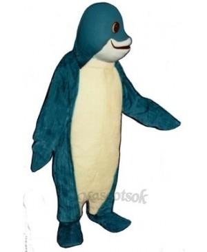 Cute Finney Fish Mascot Costume