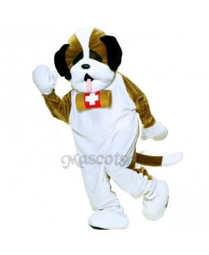 Cute Deluxe Puppy Dog Mascot Costume