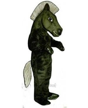 Cute Mustang Horse Mascot Costume