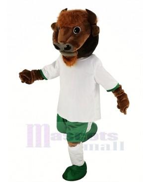 Brown Buffalo Bison Mascot Costume Animal