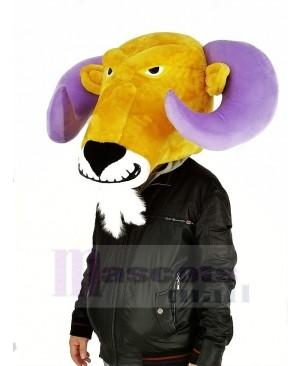 Cool Ram Mascot Costume Only Head