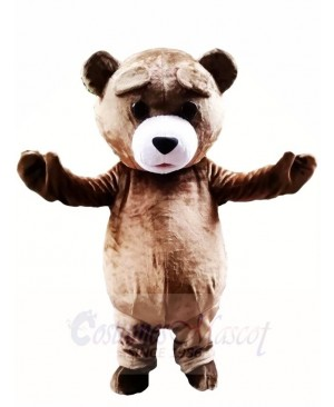 Brown Teddy Bear Mascot Costumes Animal
