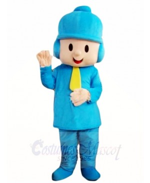 Pocoyo Little Boy Mascot Costumes Cartoon