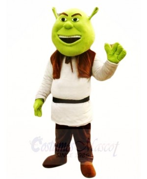Shrek Green Ogre Mascot Costumes Fairy Tale