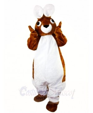 Brown Peter Rabbit Big Ear Easter Bunny Mascot Costumes Animal