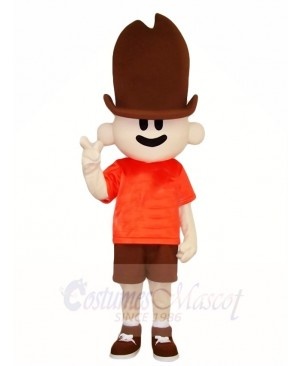 Tall Hat Boy Mascot Costumes