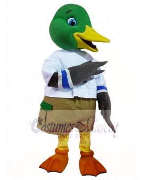 Mallard Wild Duck Mascot Costumes Poultry