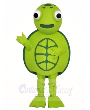 Green Sea Turtle Tortoise Mascot Costumes Ocean