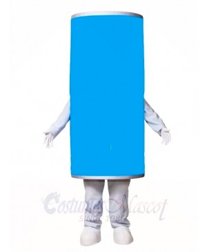 Blue Ring Pull Can Mascot Costumes Drink