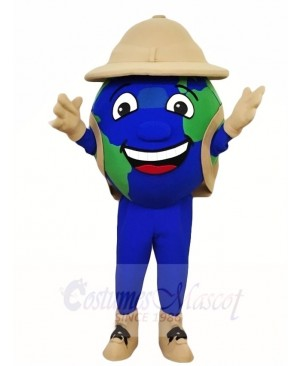 The Earth Globe Mascot Costumes