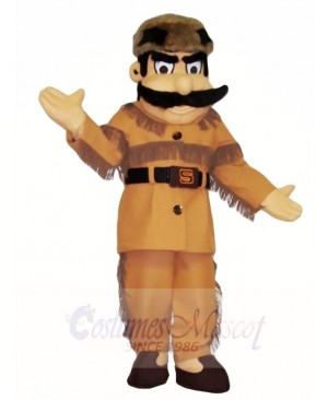 Frontiersman Hunter Mascot Costumes People
