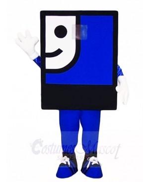 Blue Face Mascot Costumes