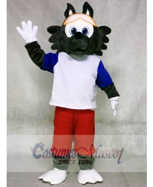 2018 FIFA World Cup Football Zabivaka Wolf Mascot Costumes