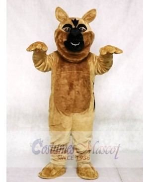Fierce German Shepard Dog Mascot Costume