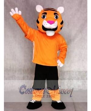 Orange Tiger Mascot Costumes Animal