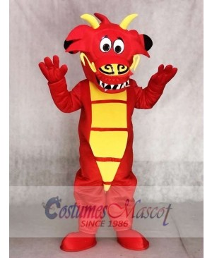Red Legendary Dragon Mascot Costumes