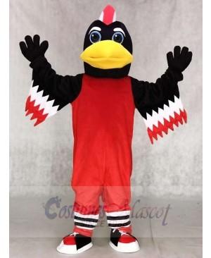Red Chicago Blackhawks Tommy Hawk Mascot Costumes