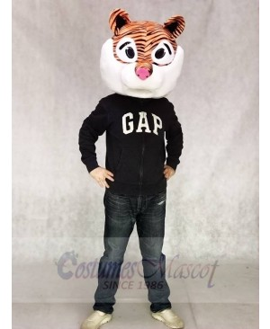 Cute George Tiger Mascot Head ONLY Animal