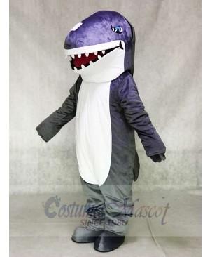 Grey Shark Mascot Costumes Animal