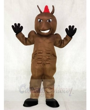 Brown Power Horse Mascot Costumes Animal