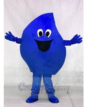 Blue Raindrop Sea Water Drop Mascot Costumes