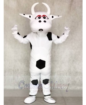 Big Black Dot Cow Mascot Costumes Animal