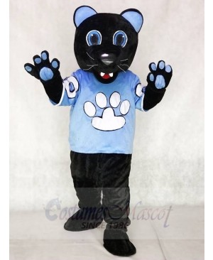 Sir Purr of the Carolina Panthers Mascot Costume Football